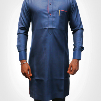 TDA kaftan series dark blue