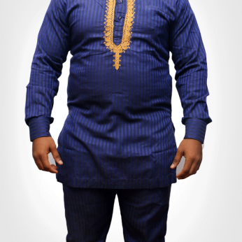 TDA kaftan series striped blue